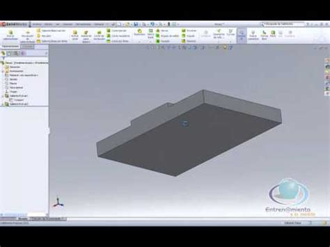 tutorial solidworks 2012 tutorial solidworks 2012 pieza 1 top plate 2 youtube