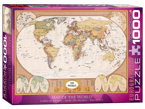 usa map puzzle 1000 pieces map of the world 1000 eurogrraphics puzzle