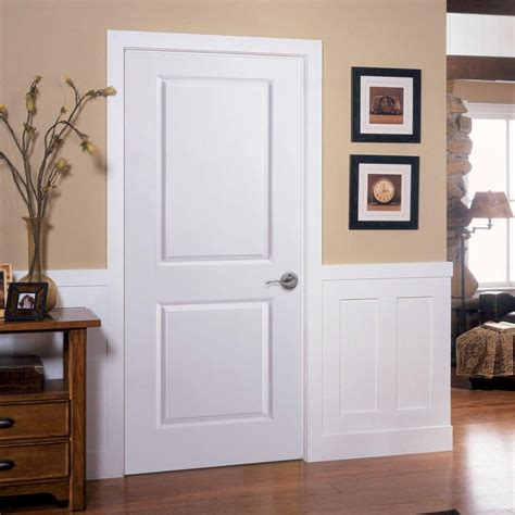 home depot 2 panel interior doors solidcore door stained amaretto 3 panel solid