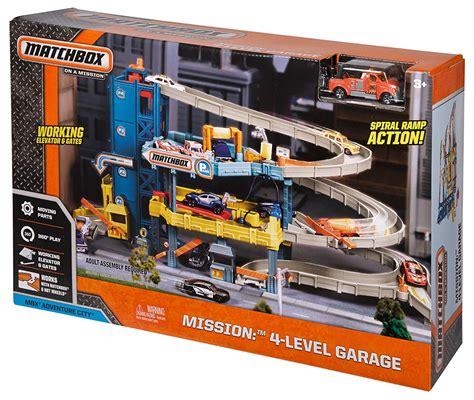 matchbox car garage car garage play set 4 level matchbox service