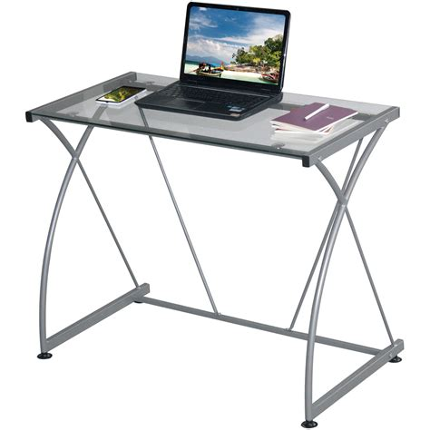 computer desk walmart in store glass desks walmart com