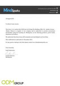 Authorization Letter On Company Letterhead Brand Authorization Letter