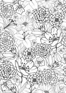 人気の17 花の塗り絵 のアイデア探し 曼荼羅の塗り絵 ぬり絵 大人の塗り絵