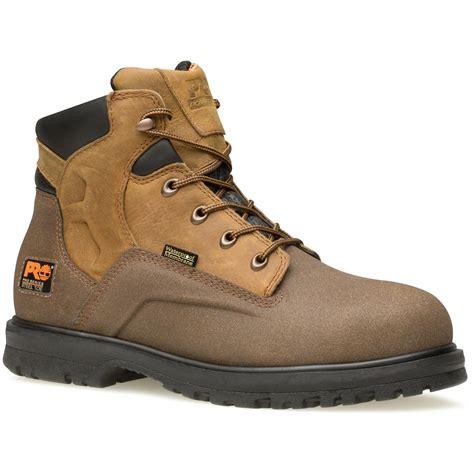 timberland waterproof work boots s 6 quot timberland pro 174 powerwelt waterproof steel toe