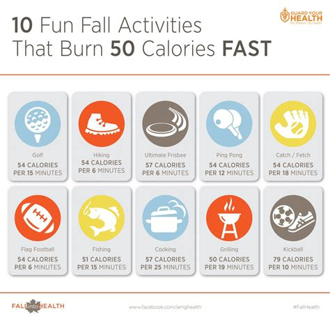 7 That Will Burn Calories by 10 Fall Activities That Burn 50 Calories Fast