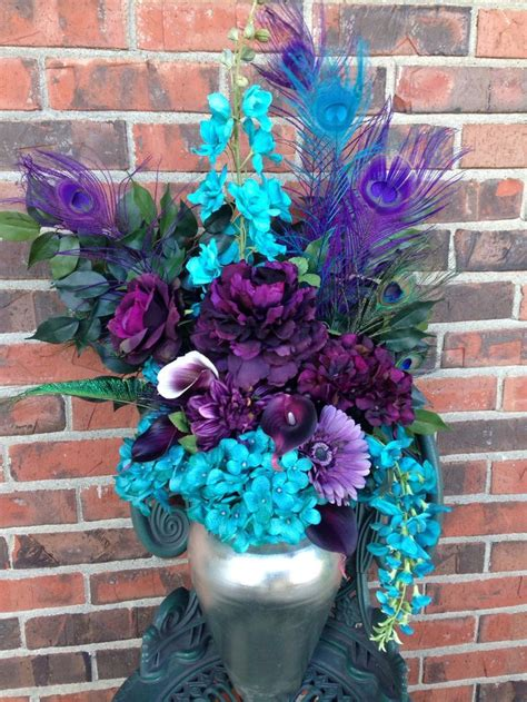 purple and turquoise wedding centerpieces best 25 turquoise centerpieces ideas on teal