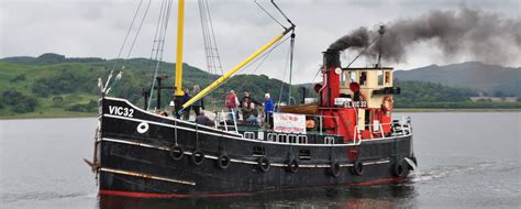 boat trip newark crinan canal scotland canals canal guide
