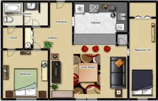 small 2 bedroom apartment floor plans foundation dezin decor studio apt 1bkh layout s