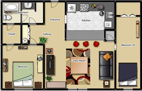two bedroom apartment floor plan foundation dezin decor studio apt 1bkh layout s