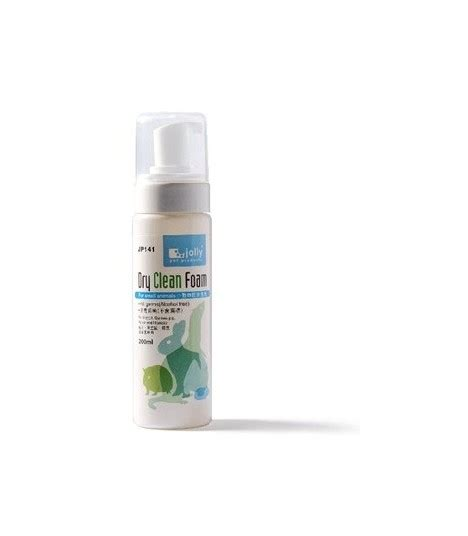 Jp159 Jolly Clean Foam For Small Animals 200ml Lavender jp141 jolly clean foam 200ml moomoopets sg singapore