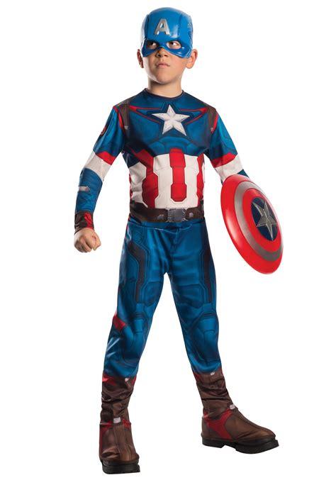 Costum Captain America child captain america 2 costume