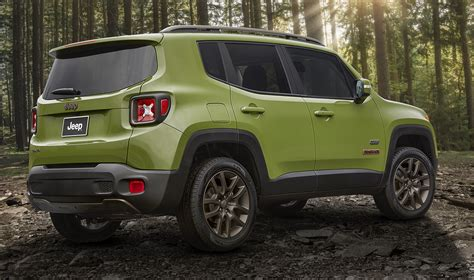 jeep road wheels get road wheels and tires on the renegade 75th special