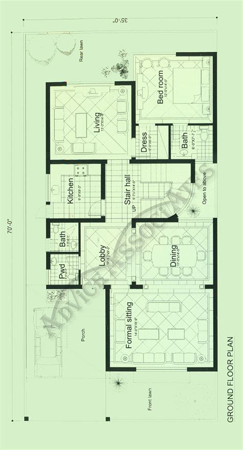 10 marla house layout plan home deco plans bahria enclve 10 marla 3 bed house design bds 203