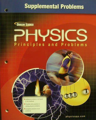 chapter 9 supplemental problems physics glencoe physics principles and problems supplemental