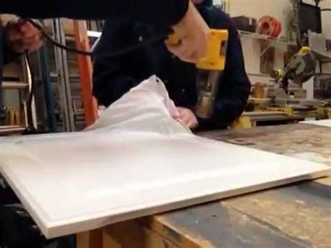 How To Remove Thermofoil From Cabinet Doors Thermofoil | how to quickly remove thermofoil youtube