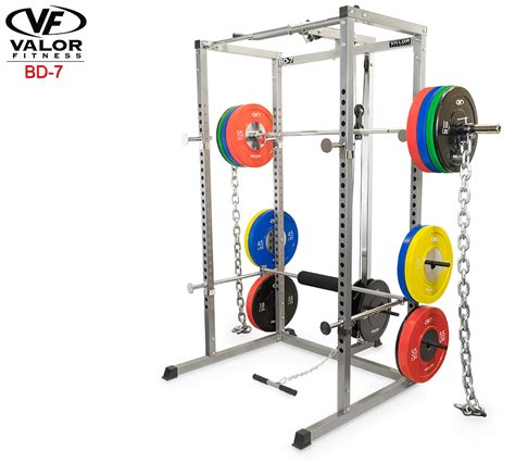 bd 7 power rack with lat pull valor fitness valor