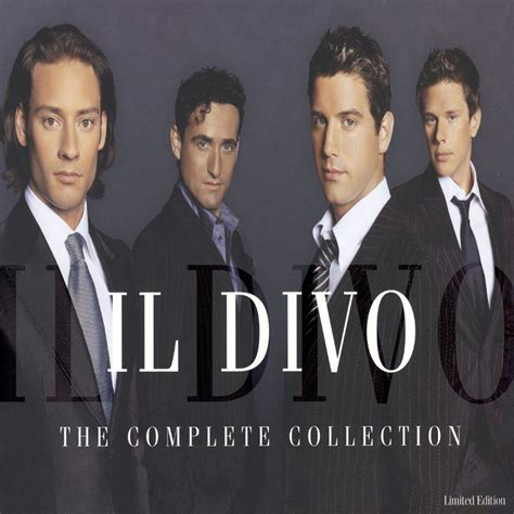 il divo collection car 225 tula frontal de the complete collection de il divo