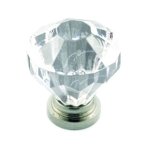 Clear Acrylic Knobs by Richelieu Hardware 1 1 4 In Acrylic Clear Knob