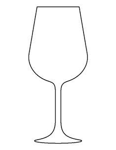 wine glass template giraffe pattern use the printable outline for crafts