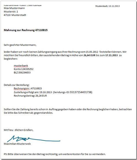 Zweite Mahnung Schreiben Muster S 228 Umige Kunden Mahnungen Im Onlineshop Betrieb