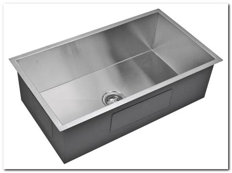 33x19 Stainless Steel Single Bowl Kitchen Sink Sink And