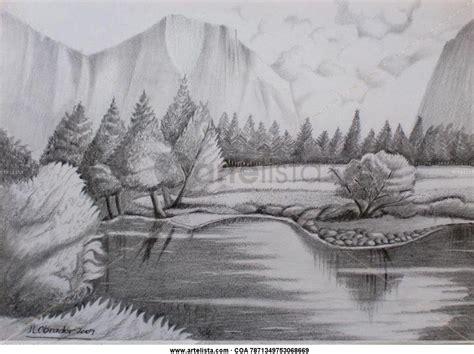 imagenes para dibujar a lapiz de paisajes faciles imagenes de paisajes a lapiz imagui