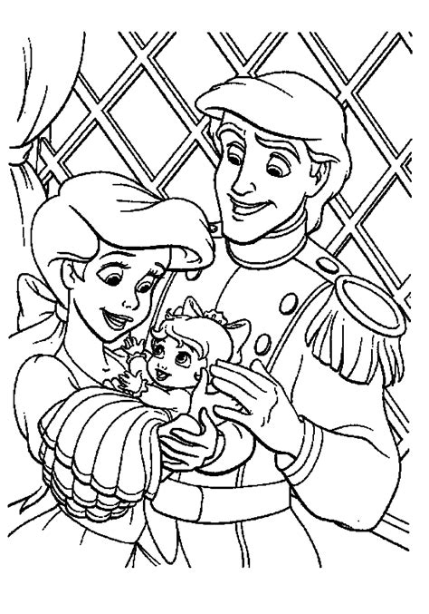 print amp download the little mermaid 2 coloring pages