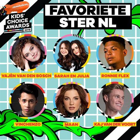 kca 2011 vote nickelodeon kids choice awards nominee nickalive maan ronnie flex shane kluivert en taylor