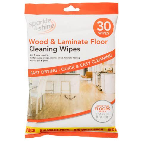 Wood Floor Cleaning Products B M Wood Laminate Floor Wipes 30pk 293084
