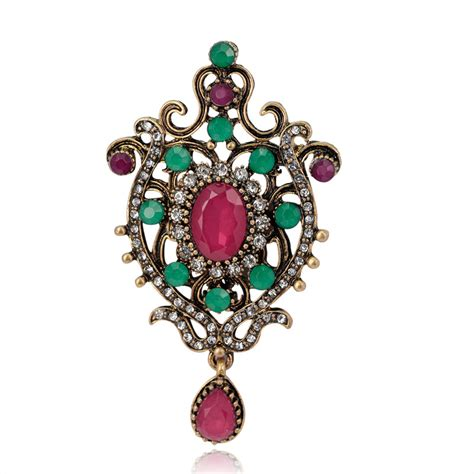 Pin Turki 1 popular indian brooches buy cheap indian brooches lots from china indian brooches suppliers on