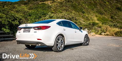 2017 Mazda 6 Limited Sedan Car Review Comfortable