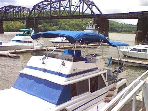 boat loans buffalo ny 1983 marinette 39 double cabin power boat for sale www