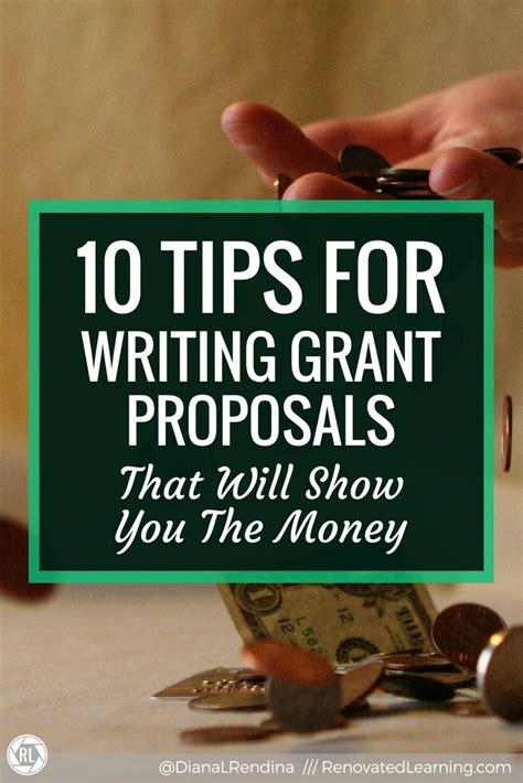 10 Tips For Writing The by 10 Tips For Writing Grant Proposals That Will Show You The Money