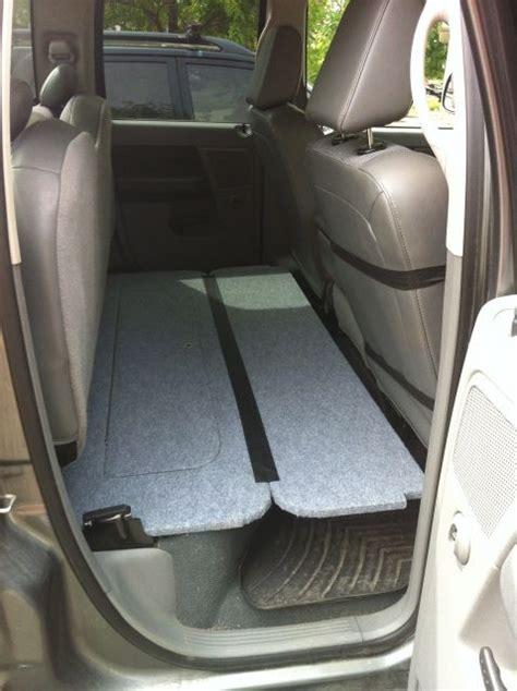 rear seat folding dog platform truck accessories ram