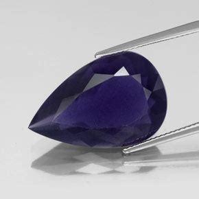 Violet Zircon 10 15 Ct 14 7ct violet blue iolite gem from madagascar and