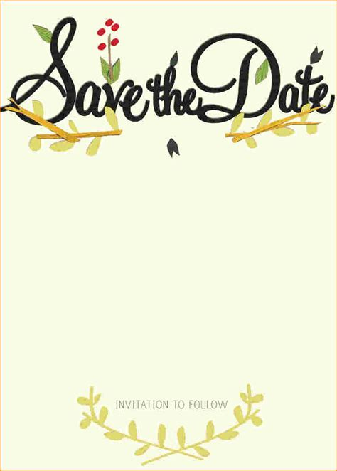 save the date template save the date template free www imgkid