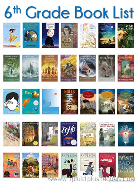 list of picture books 6th grade reading list 1 1 1 1