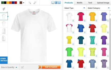 design online t shirt personalised t shirts from shirtinator uk
