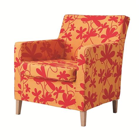 Floral Armchair by Karlstad Chair Slipcover Armchair Cover Bondarp