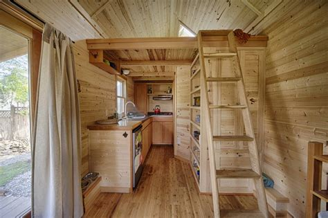 One Story Tiny House the sweet pea tiny house plans padtinyhouses com