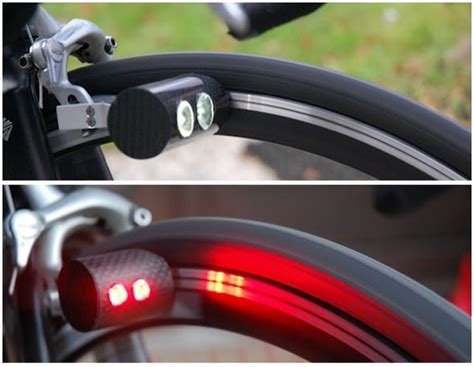 self contained solar powered strobe light 自転車 ヘルメット
