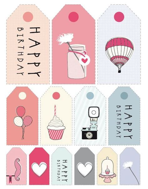 printable stickers for birthday wrap it up tags cards stickers printable happy