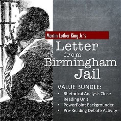 letter from birmingham analysis letter from birmingham bundle rhetorical analysis 1362