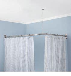 Duschwand Für Badewanne über Eck by Duschvorhangstange Edelstahl Bad Accessoires