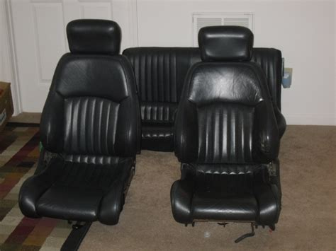 leather 4th seats install third generation f