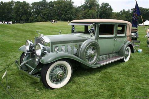 1930s Cadillac by Two Tone Green 1930 Cadillac Cabriolet Car Picture