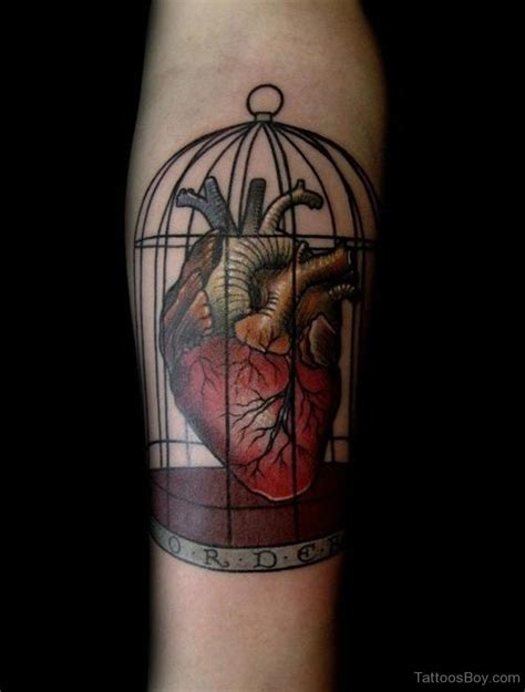 caged bird tattoo cage tattoos designs pictures