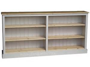 Low Bookshelves Low Wide Bookcase American Hwy
