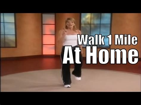 1 mile in home walk walking workout ytpak
