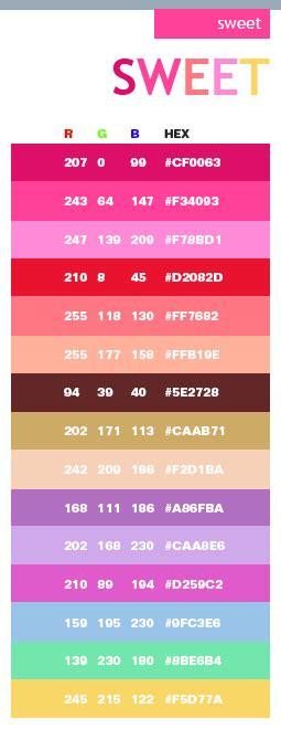 color sweat sweet color schemes color combinations color palettes